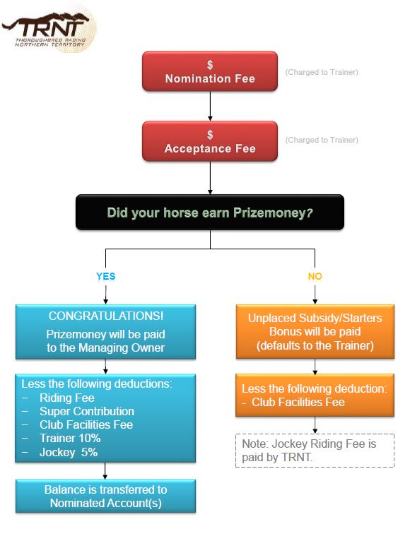 Fees & payment flow chart
