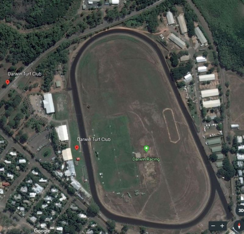 Google Map Darwin