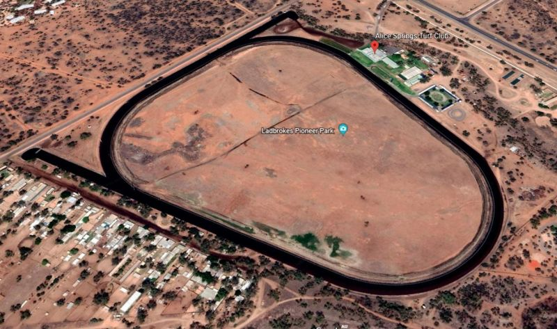 Google Map Alice Springs